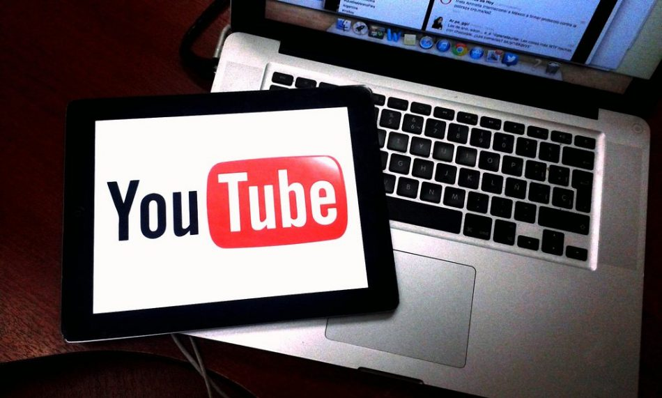 laptop and tab in you tube